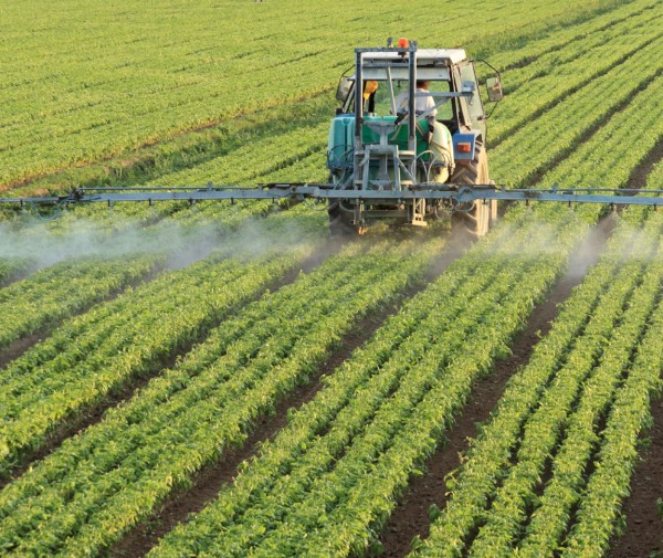 homogenized pesticides application